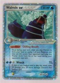 2007 Pokemon EX Power Keepers Holo Walrein ex #99/108