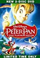Peter Pan (DVD, 2007, 2-Disc Set, Platinum Edition) Brand New by New Factory Sealed