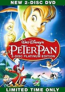 Peter Pan (DVD, 2007, 2-Disc Set, Platinum Edition) Brand New - Peter Pan Toy