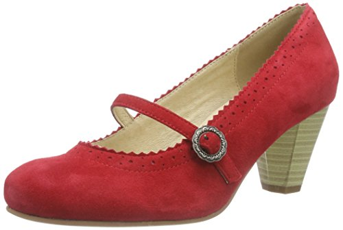 Hirschkogel by Andrea Conti 0590437, Damen Pumps Rot (021)
