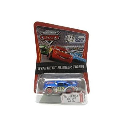 Disney / Pixar CARS Movie Exclusive 1:55 Die Cast Car with Sythentic Rubber Tires Lil' Torquey Pistons: Toys & Games
