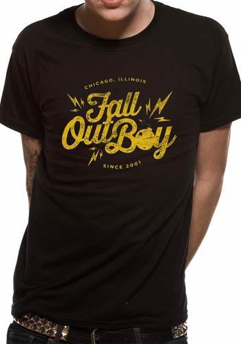 Go Merch Fall Out Boy Bomb Men's T-Shirt Fall Out Boy - Bomb