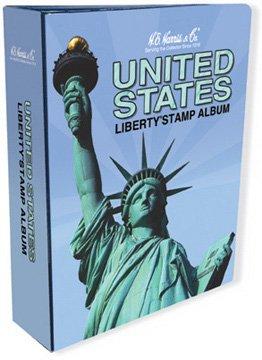 Harris US Liberty Stamp Album Binder / Empty
