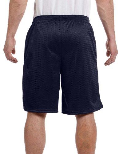 Champion Herren Lang Mesh Shorts mit Taschen, Blau, S162