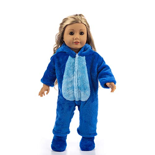Theshy Cute Animal Jumpsuit Clothes Coat Girl Toy
