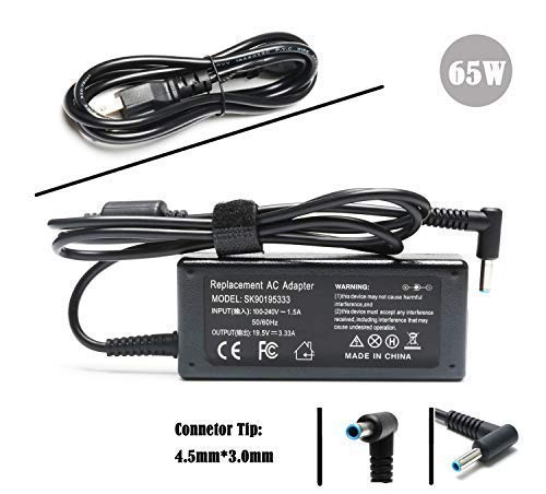 (65W Laptop AC Adapters Charger for HP Elitebook 840 G3 840 G4 G5 850 G3 G4 725-G3 745-G3 820-G3 Pavilion X360; HP Chromebook 14 Series Notebook 709985-001 710412-001 Power Supply)