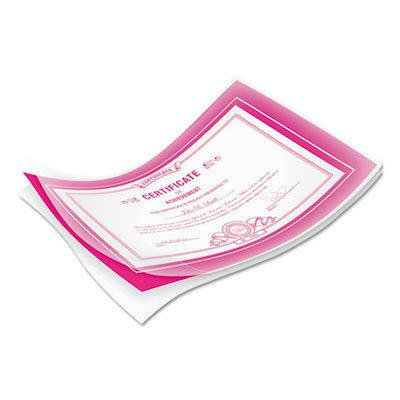 Laminating Pouches, 10mil, 11 1/2 x 9, 50/Pack, Sold as 2 Package
