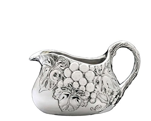 Arthur Court Designs Aluminum Grape Gravy Boat 7.5