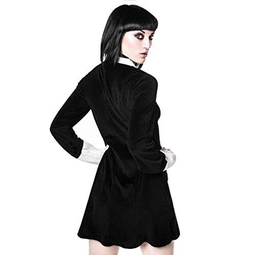 Velvet Mini Kill Dress Star Dress Velvet Dress Dress Women Addams U8RqxBE8