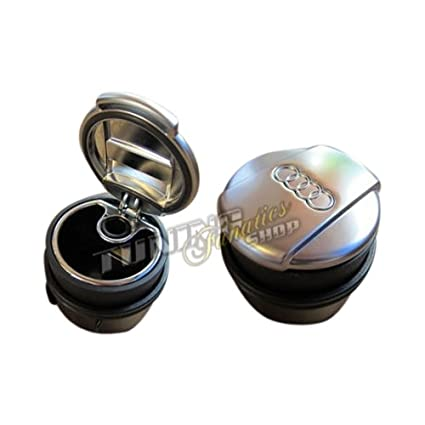 Original aluminio Cenicero Cenicero para portavasos Soporte Soporte para teléfono móvil