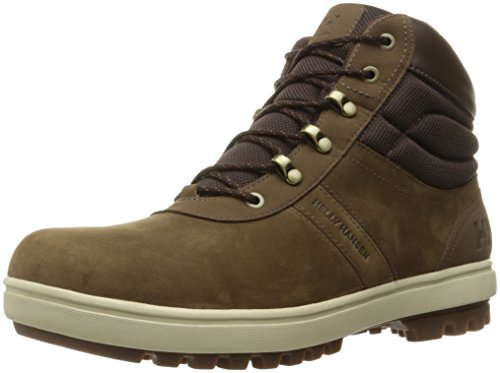Helly Hansen Hombres Montreal Bota Bushwhacker / Coffee Bean / Natural / Sperry Gum