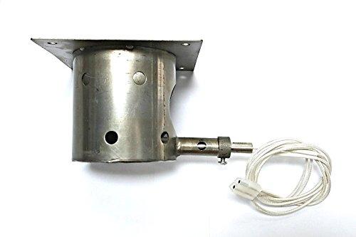 Steel Burn/FIRE Pot+ IGNITER/HOT Rod Upgrade FITS All Traeger ()
