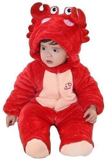 Ropa de descanso para niñas Boys para bebé rojo Scorpio de ...
