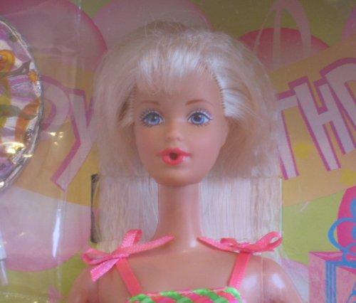 "Doll ""Blows"" Up Balloons"