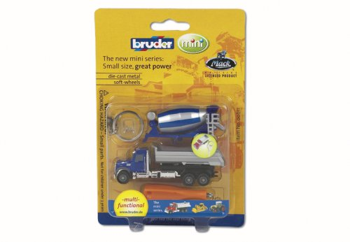 Bruder Cement Truck Keychain 00611 product image