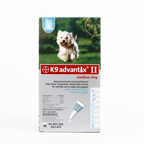 K9 Advantix II 4 Packs