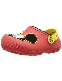 Crocs - Zuecos con Forro para niños y niñas, diseño de Mickey Mouse