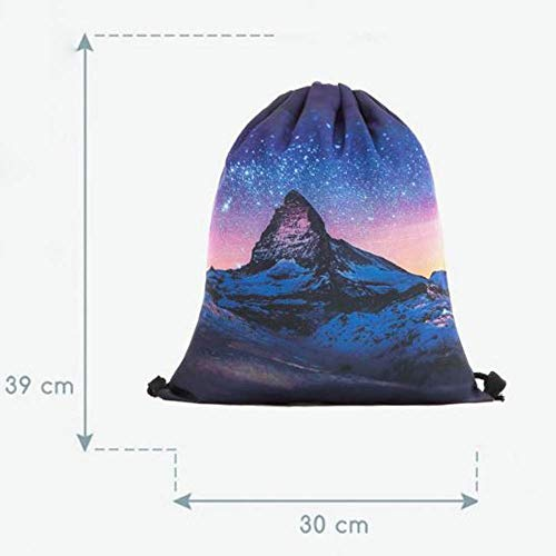 Backpack Woman Soft Unisex Pocket Drawstring 3d d Shoulder Digital Bag Jiangfu B Draw Printing Fashion Christmas Men EqwSMB7z
