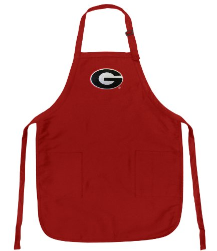 Broad Bay BEST University of Georgia Aprons DELUXE Georgia Bulldogs Apron by Broad Bay