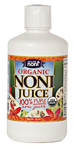 Noni Concentrate 650 Mg: Certified Organic Hawaiian Noni Juice – 32 Ounce