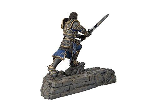 Swordfish-Tech-Warcraft-Lothar-Statue-Phone-Charging-Dock-Warcraft-Movie-Official-Licensed