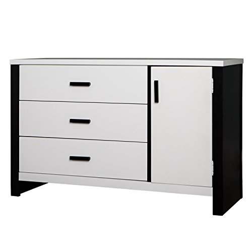 Dream On Me Cafeina 3 Drawer Dresser Combo, White by Dream On Me