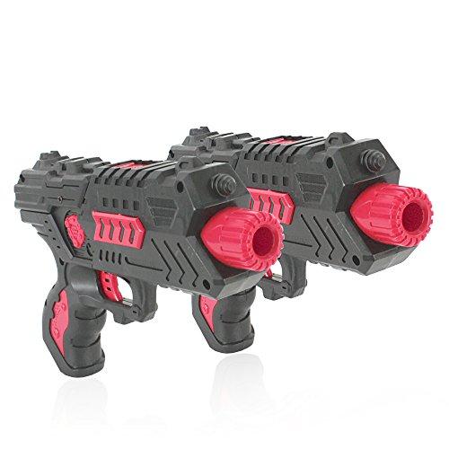 Foam Dart Gun Toy Hand Gun Blaster MK3 -  Dual Pistol, Shoot