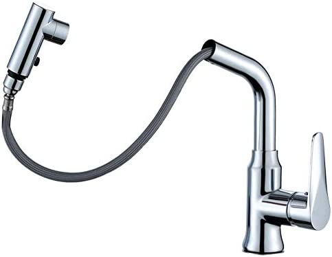 ZJN-JN 蛇口 蛇口浴室の蛇口の真鍮の洗面台の蛇口ロータリー引き出しセラミックスプール蛇口ホット/コールドウォーター日常使用のため、耐久性に優れました 台付