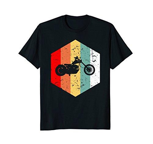 Retro Vintage 70s Motorcycle T-Shirt Bike - Biker Love Gift