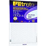 3M Filtrete Ultra Allergen Reduction FPR9 Air Furnace Filter 16'' X 25'' X 1'' (1-Pack)