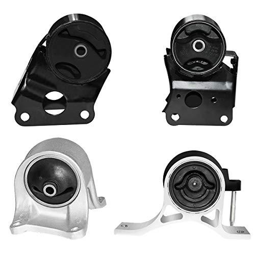 4pc Engine Motor Mounts & Trans Set for 02-06 Nissan Altima L4 2.5L