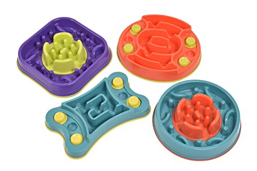 K9 Pursuits Maze Slider 2-in-1 Anti-Gobble Feeder and Interactive Game 5