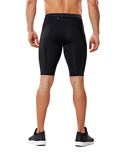 2XU Men's MCS Run Compression Shorts (Black/Nero, XX Large) by 2XU (Image #2)