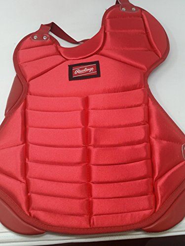 Rawlings New Chest Protector RCP 17'' Scarlet Softball Catcher's by Rawlings
