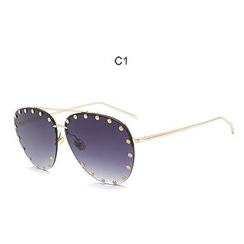 YSFU Gafas de sol Gafas De Sol De Aviador Mujer con ...