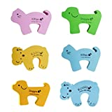 Panda Superstore Set of 5 Lovely Animal Elasticity Door Stop/Holder Random Delivery 5.53.5''