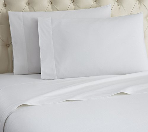 Thermee Micro Flannel Shavel Home Products Sheet Set, Snow, Queen