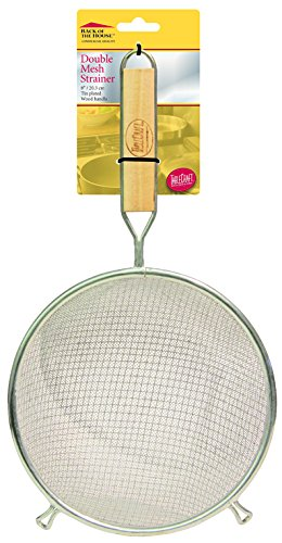 Tablecraft H98BH 8'' Double Mesh Strainer