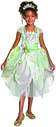 [Disguise Princess Tiana Shimmer Deluxe 3T-4T] (Princess Tiana Disney Costume)