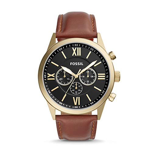 Fossil Flynn Chronograph Brown Leather Watch BQ2261 ()