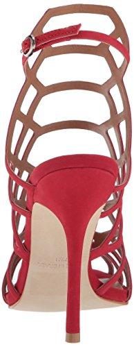 Compra Paquete de cuenta atrás barato Vestido De La Sandalia Slithur Steve Madden De La Mujer Nubuck Roja GF17olJ1vt