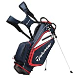 Best Golf Bags - TaylorMade 2019 Golf Select Stand Bag, Navy/Red/White Review