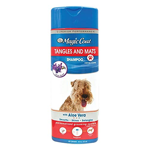 (Four Paws Magic Coat Tangles and Mats Dog Grooming Shampoo, 16 oz )