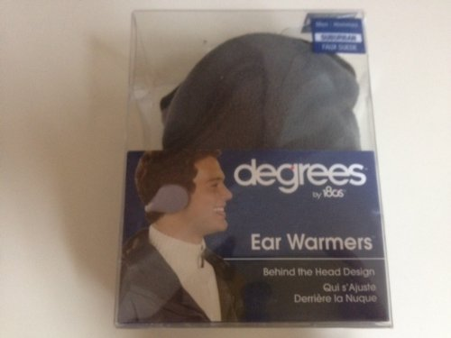 Degrees by 180s Mens Suburban Faux Suede Ear Warmer