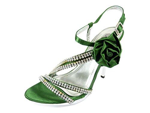 Chaussmaro - sandalias mujer Verde - verde
