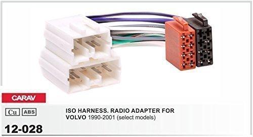 Carav 12-028Auto Radio ISO cable adaptador para Volvo S40V40S70V70Serie 89