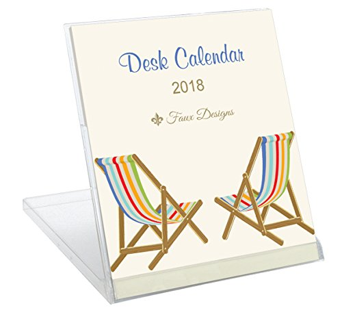Faux Designs Gift Calendar 2018: Beach Chairs (Arrangements High End Faux Floral)