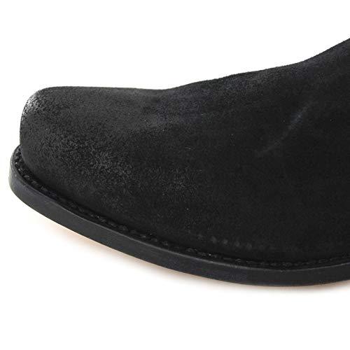Nero FB Fashion Unisex da Boots Stivali Motociclista Adulto gqOHvw