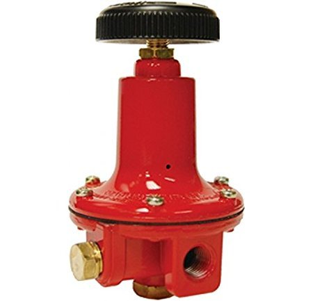 Propane Regulator, Adjustable High Pressure, 0-100