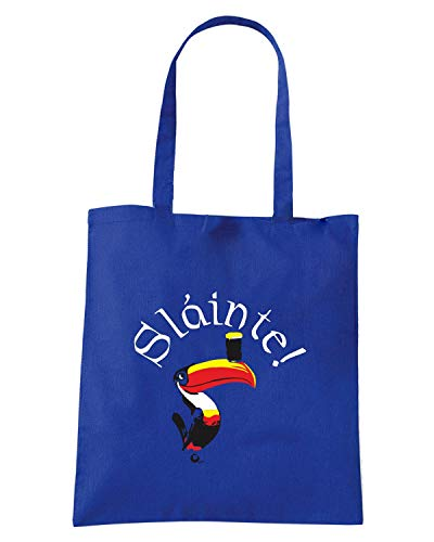 Borsa Shopper Royal Blu TIR0189 SLAINTE TOUCAN